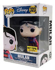 Funko Pop #323 Disney Mulan Hot Topic Exclusive Diamond Collection Pop Protector
