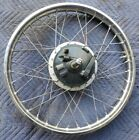 Yamaha DT3 250cc 1973 front wheel rim spokes brake plate pads axle 21in 250