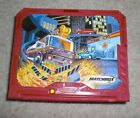 Rare Vintage Matchbox Fire Station 05 with very rare snorkel fire truck in white