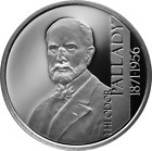 Romanian 10 lei silver coin 150 Years Since the birth of Theodor Pallady