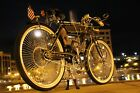 2021 Vintage Cafe racer Boardtracker roadbike bicycle CYCLE moped velo