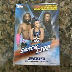 2019 Topps WWE SMACKDOWN LIVE Wrestling Hobby Box 75 cards New Factory Sealed