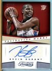 2013-14 Timeless Treasures Validating Marks Kevin Durant #50 Autograph 10 25