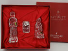 Waterford Crystal Nativity Collection Holy Family MIB