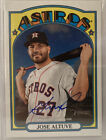 2021 Topps Heritage JOSE ALTUVE Astros auto REAL ONE AUTOGRAPH Blue Ink 🔥🔥