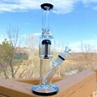 12 Thick Heavy Tree Perc Glass Bong High Quality Water Pipe Free Shipping USA