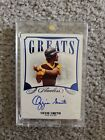 2020 Flawless Greats Ozzie Smith Auto Autograph #7 10 Sharp Card of Legend