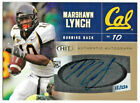 MARSHAWN LYNCH 2007 SAGE HIT Gold #A24 rookie AUTO autograph SEATTLE SEAHAWKS 24