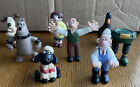 Wallace and Gromit 1989 W&G ltd. figurines lot of 8