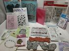 Mixed Stamps Lot 16 Sets Cling Clear Rubber Loose Unmounted GREAT