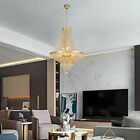 Classic French Empire Style Crystal Chandelier Gold H30XW24 Ceiling Light HOT