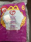 TY Teenie Beanie Baby McDonald's Happy Meal Toy Bumble the Bee Sealed Rare 2000