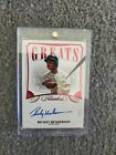 2020 Flawless Greats Rickey Henderson Auto Autograph # 10 Nice Card