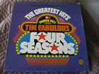 Frankie Valli And The Fabulous Four Seasons The Greatest Hits 4 LP vinyl