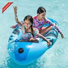 Inflatable Boat Swimming Pool Float For Kids And Adults Summer Water Float Toys