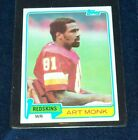 Art Monk Cards, Rookie Card and Autographed Memorabilia Guide 20