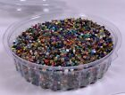 INDIA GLASS Seed Beads over 1 Pound Multi Color Variety 6 0 8 0 Glass Beads
