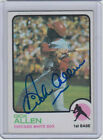 1973 Topps Dick Richie Allen #310 Auto Autographed Signed White Sox GORGEOUS !!