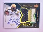 2012 Upper Deck Exquisite Football Rookie Autograph Patch Visual Guide 48