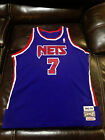 RARE USA Authentic Kenny Anderson New Jersey Nets Mitchell Ness jersey sz 52 2XL