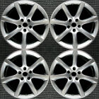 Infiniti G35 Hyper Silver 18 OEM Wheel Set 2003 to 2007
