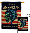 Native Heart Garden Flag Country Living Decorative Small Gift Yard House Banner