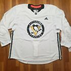 Adidas Pittsburgh Penguins Authentic Practice Jersey 58+ Hockey Made in Canada