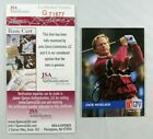 Jack Nicklaus Cards and Autograph Memorabilia Guide 37