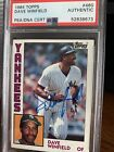 Dave Winfield Cards, Rookie Cards and Autographed Memorabilia Guide 48