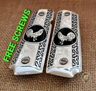Fathers day special gift gallos palenque premium 1911 grips cachas silver plated