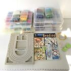 Huge Lot Of Jewerly Making Supplies Beads Seed Glass Pendents Bead Board Book