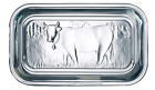 Farmhouse Cow Butter Dish Durable Glass Lid Food Serving Kitchen Vintage Plate