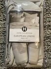 Hotel Collection European Linens King Pillow Cases Ironwork