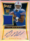 EJ Manuel Signs Exclusive Autographed Memorabilia Deal with Panini Authentic 8