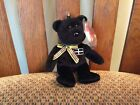"""Ty Beanie Baby Key Clip """"KERNOW"""" the Bear MWMT 2007 UK Exclusive"""