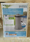 INTEX 1000 GPH EASY SET ABOVE GROUND SWIMMING POOL FILTER PUMP NEW IN HAND