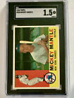 Comprehensive Guide to 1960s Mickey Mantle Cards 10