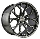 21 STANCE SF10 BRUSHED GUNMETAL CONCAVE WHEELS RIMS FOR BMW G30 530 540 M550i