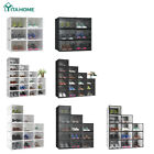 YITAHOME 6 12 18 PCS Shoe Storage Box Sneaker Case Stackable Container Clear XL