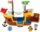 Fisher Price Little People Pirate Ship playset with music sounds and action NEW