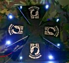 Limited Edition POW Helicopter Landing Pad  Lights Includes 4 FREE Helicopters