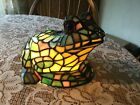 Stain Glass Electric Frog Lamp