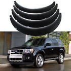 For Ford Escape 2001 2022 Car Fender Flares 45 Wide Body Kit Wheel Arches 4Pcs
