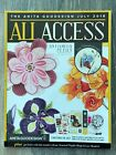 ANITA GOODESIGN ALL ACCESS EMBROIDERY DESIGNS  JULY 2018 w CD