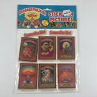 Topps Vintage Garbage Pail KIds Stick On Pictures Puffy Stickers New Unused GPK
