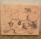 HOUSE MOUSE Stamp Stampabilities House Mouse Rubber Stamp GETTIN SPOOKY