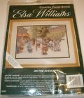 Elsa Williams On The Avenue Judy Gibson Counted Cross Stitch Kit 02080 NEW JCA