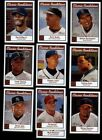 2001 Topps Heritage Classic Renditions Insert Set - complete (10 cards)