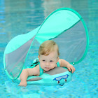 Mambobaby Solid Non Inflatable Newborn Baby Waist Float Lying Swimming Ring Pool
