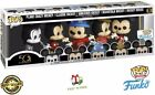 Funko Pop Disney Archives Mickey Mouse 5 Pack Vinyl Figures Exclusive